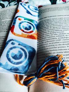 zakładka do książki handmade